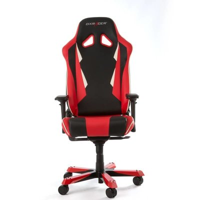 PC DXRacer - SENTINEL S28-NR Gaming Chair (Zwart / Rood)