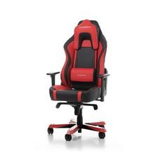 Gear DXRacer - WORK W06-NR Gaming Chair (Zwart / Rood)