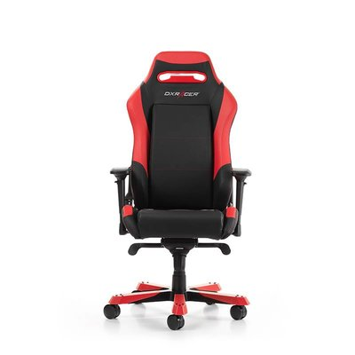 PC DXRacer - IRON I11-NR Gaming Chair (Zwart / Rood)