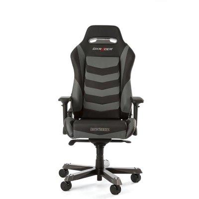 Gear DXRacer - IRON I166-NG Gaming Chair (Zwart / Grijs)
