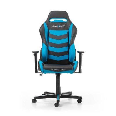 Gear DXRacer - DRIFTING D166-NB Gaming Chair (Zwart / Blauw)