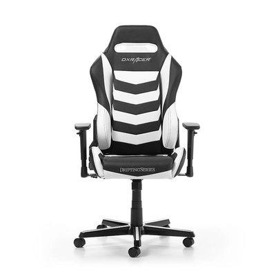 Gear DXRacer - DRIFTING D166-NW Gaming Chair (Zwart / Wit)