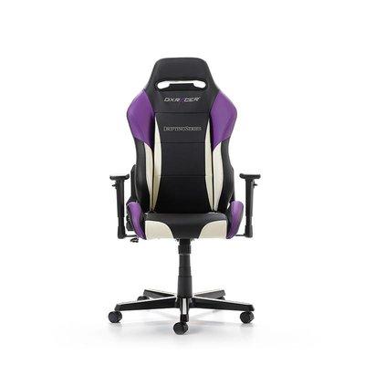 PC DXRacer - DRIFTING D61-NWV Gaming Chair (Zwart / Wit / Paars)