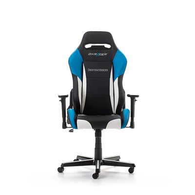 Gear DXRacer - DRIFTING D61-NWB Gaming Chair (Zwart / Wit / Blauw)