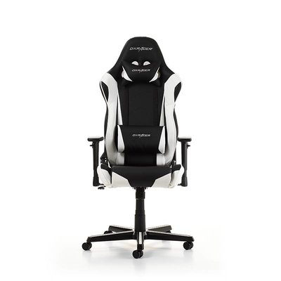 PC DXRacer - RACING R0-NW Gaming Chair (Zwart / Wit)