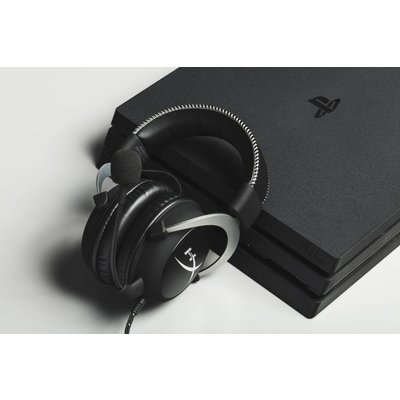 PC HyperX Cloud - Gaming Headset - Silver  (Xbox One/PC/Mobile)