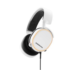 PC SteelSeries, Arctis 5 Headset (2019 Edition) (White)  ( / PS4 / Xbox One / Mobile / VR)