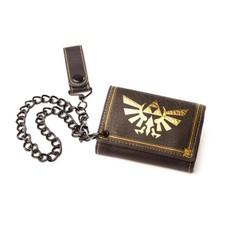 Game Merchandise Nintendo - Zelda Trifold Chain Wallet