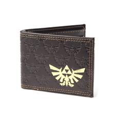 Game Merchandise Nintendo - Zelda Embossed - Bifold Portemonnee - Gouden Folie Logo