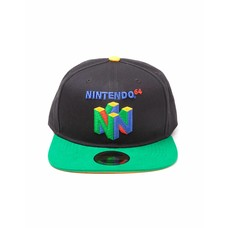 Game Merchandise Nintendo - N64 Logo - Pet - Snapback