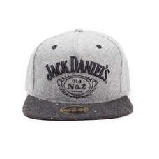 Game Merchandise Jack Daniel's - Logo - Snapback - Grijs
