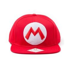 Game Merchandise Nintendo - Pet - Mario Logo (Rood) - Snapback
