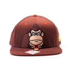Game Merchandise Nintendo - Donkey Kong Snapback / Pet (Bruin)