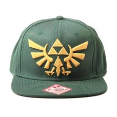 Game Merchandise Nintendo - Zelda Embroided Gold Logo Snapback (Goen)