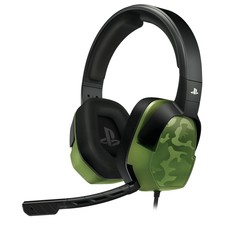 PS4 Afterglow - LVL 3 Wired Stereo Headset (Groen Camo)