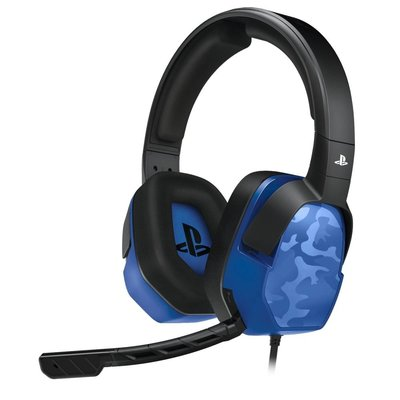 PS4 Afterglow - LVL 3 Wired Stereo Headset (Blauw Camo)