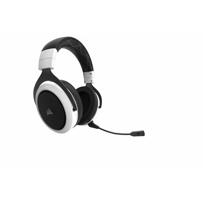 PS4 Corsair Gaming - HS70 Wireless Gaming Headset - White  ( / Xbox One / PC / Nintendo Switch / Mobile Devices)