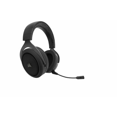 PS4 Corsair Gaming - HS70 Wireless Gaming Headset - Carbon  ( / Xbox One / PC / Nintendo Switch / Mobile Devices)
