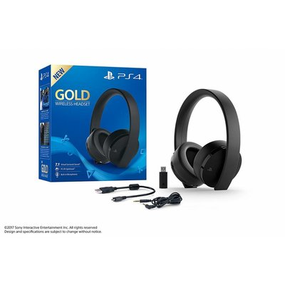 PS4 Playstation 4 Draadloze Headset - Gold Edition