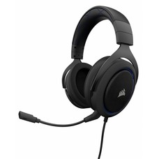 PS4 Corsair Gaming - HS50 STEREO Gaming Headset - Blue  (PS4 / Xbox One / PC / Nintendo Switch / Mobile Devices)
