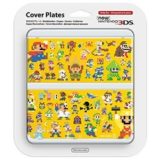 3DS New 3DS Coverplate 029 Mario 8 Bit