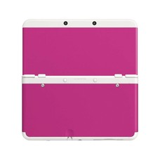3DS New 3DS Coverplate 019 Roze