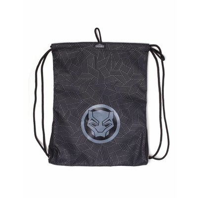 Game Merchandise Marvel - Black Panther - Rubber Print - Gymbag