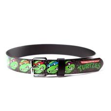 Game Merchandise Ninja Turtles - Faces Logo Bedrukte Riem - Maat XL