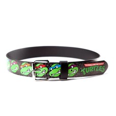 Game Merchandise Ninja Turtles - Faces Logo Bedrukte Riem - Maat M