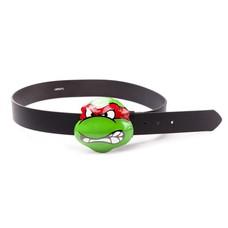 Game Merchandise Ninja Turtles - Angry Raphael Buckled Riem - Maat L - Zwart