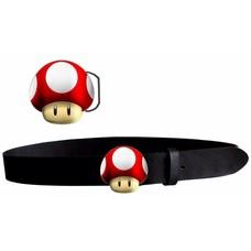 Game Merchandise Nintendo - Mushroom Riem / Belt - Maat M