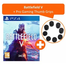 PS4 Battlefield V + Pro Gaming Thumb Grips