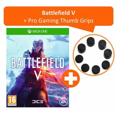 Xbox One Battlefield V + Pro Gaming Thumb Grips