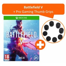 Xbox One Battlefield V - Deluxe + Pro Gaming Thumb Grips