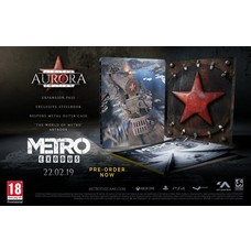 PS4 Metro Exodus - Aurora Limited Edition