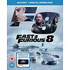 Blu-Ray Fast & Furious 8 (inclusief Digital Download) (EN)