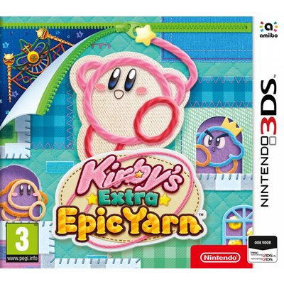 3DS Kirby's Epic Extra Yarn