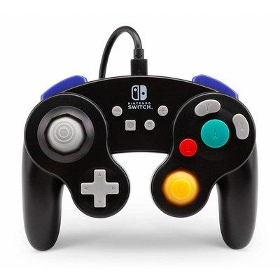 Switch Gamecube Wired Controller, Zwart - Power A