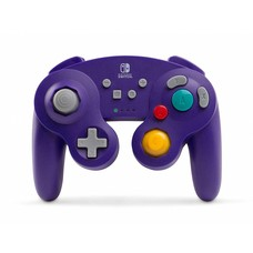 Switch Gamecube Wireless Controller, Paars - Power A