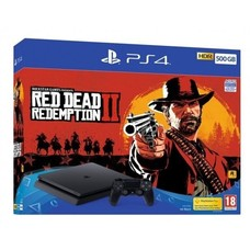 Sony PS4 Console 500GB SLIM + Red Dead Redemption 2