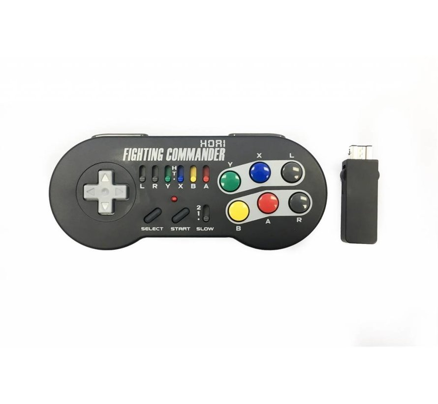 SNES Classic Mini Wireless Fighting Commander Gamepad, Hori