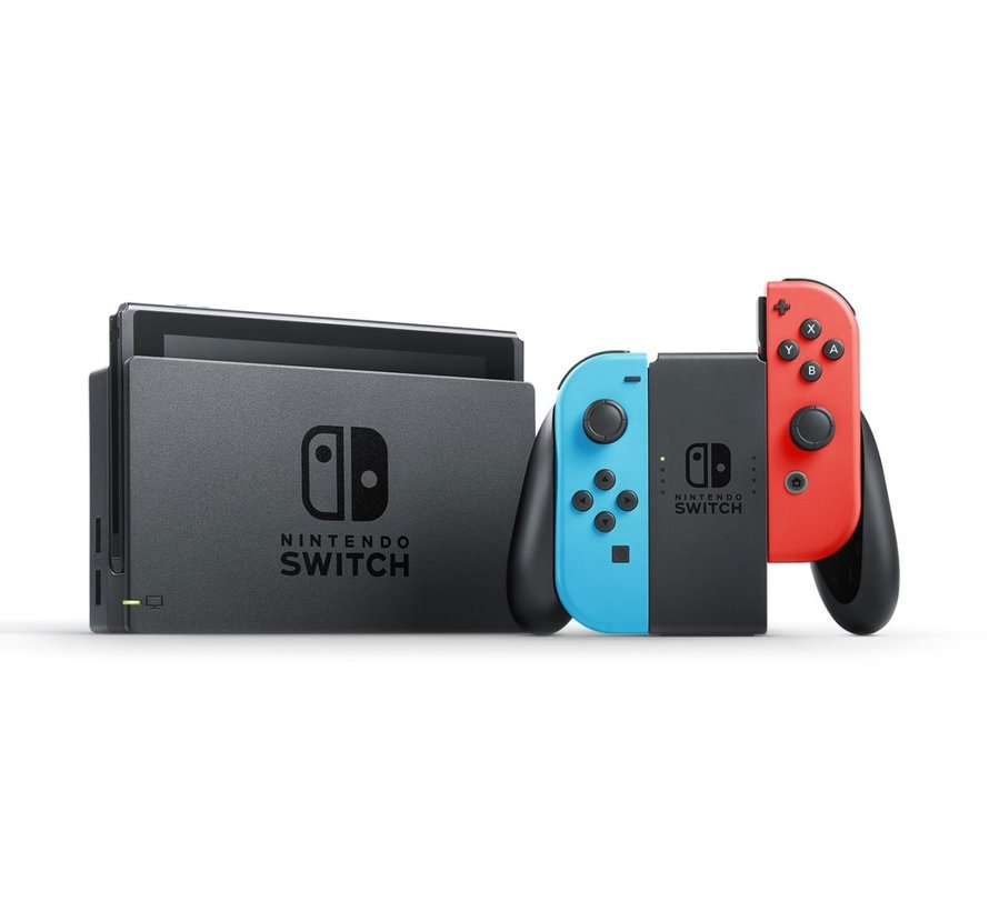 Switch Console - Neon Rood / Blauw (2019)