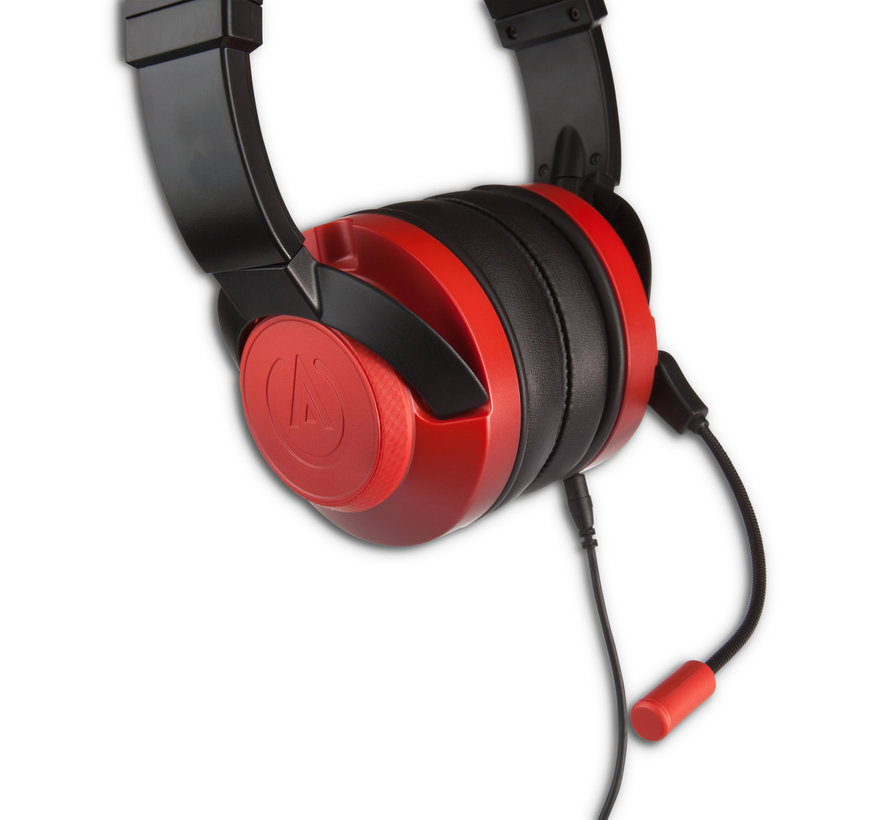 Fusion Gaming Headset - Crimson