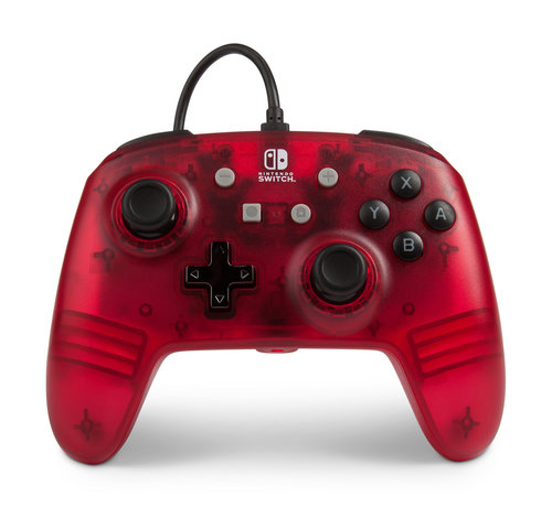 Power A Switch Controller - Red Frost