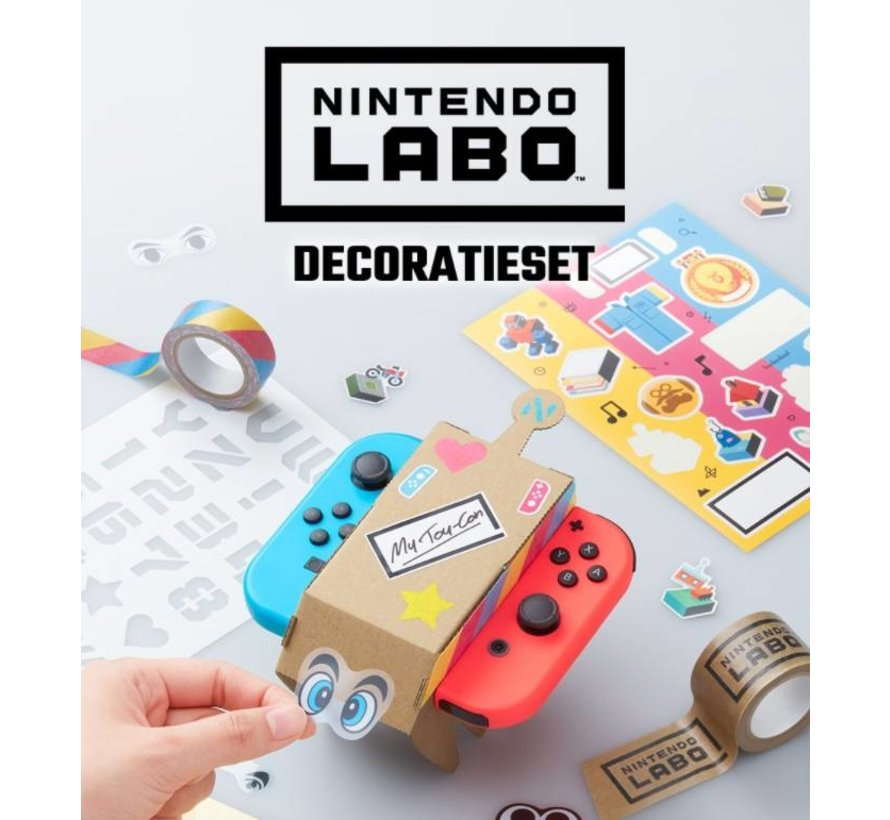 Labo Decoratie Set