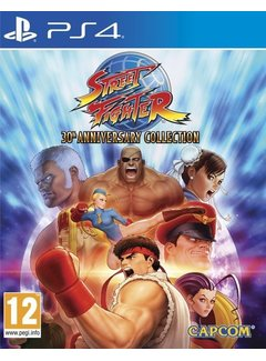 PS4 Street Fighter: 30th Anniversary Collection