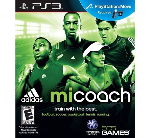 PS3 Adidas Micoach, Train With The Best