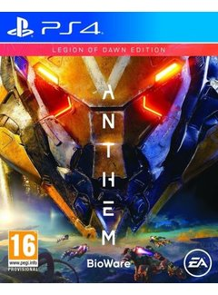 PS4 Anthem Legion Of Dawn Edition