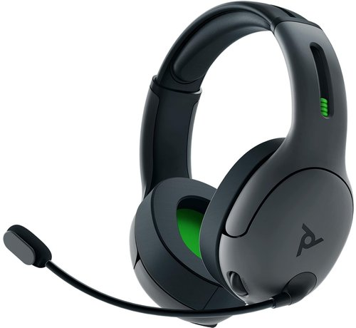 PDP Gaming Draadloze Afterglow - LVL50 Headset - Grijs
