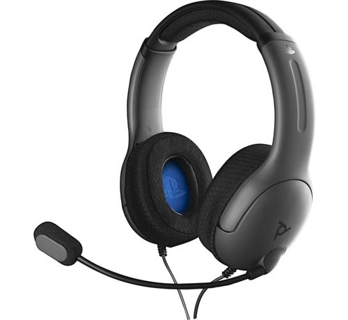 PDP Gaming Afterglow - LVL40 Stereo Headset (Grijs)
